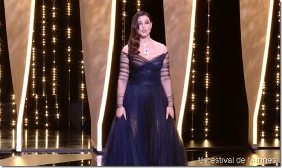 Bellucci cérémonie Cannes 2017
