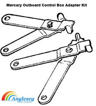 Outboard Control Cables-Outboard Control Box-Outboard Controls