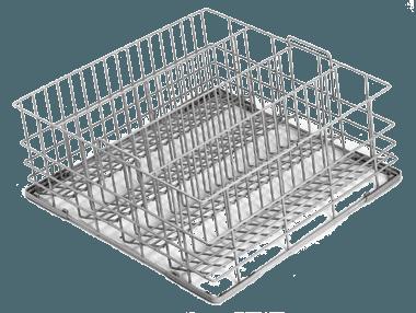 ecomax 4 division tilt glass rack for g503 g504 500 x 500mm 303171