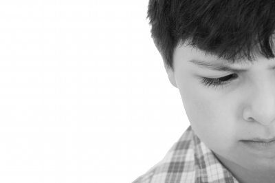 Sad boy image
