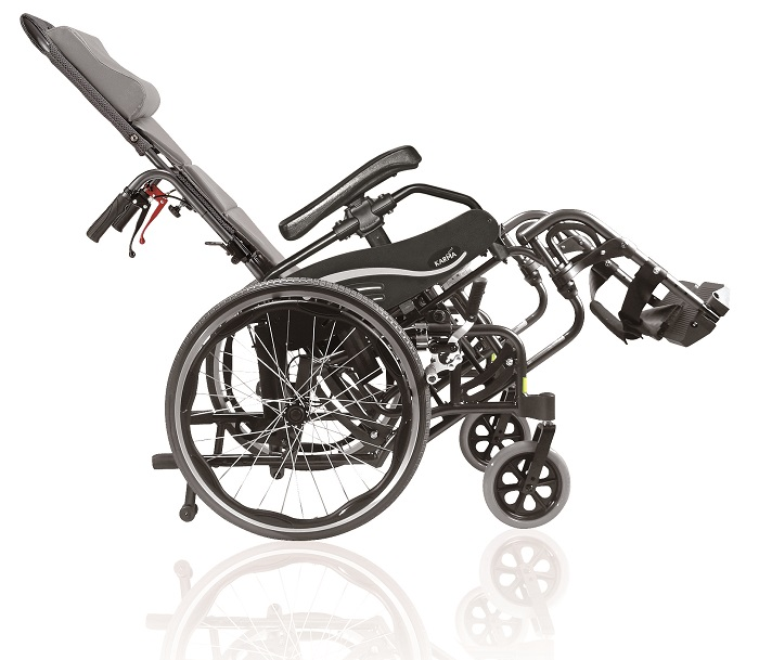 VIP-515 Tilt in Space Self Propel Wheelchair