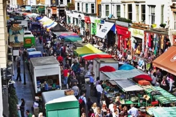 Londoni piacok