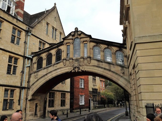 Oxford sóhajok hídja