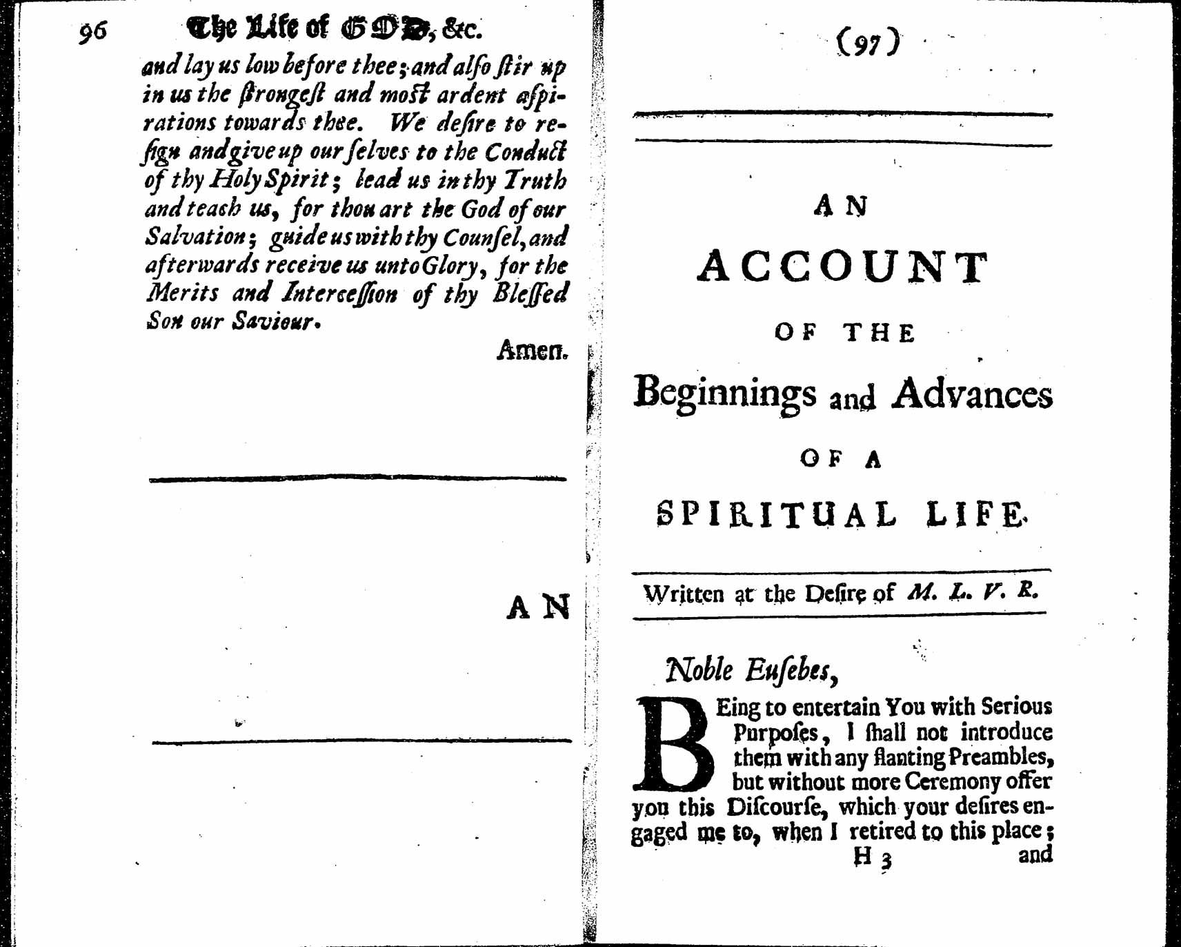 Henry Scougal, The Life of God in the Soul of Man (1677