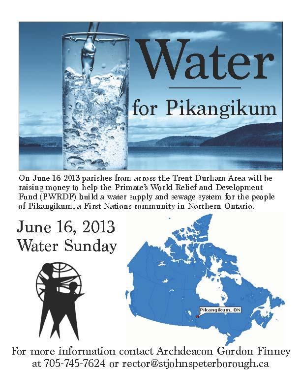 Water Poster Pikangikum
