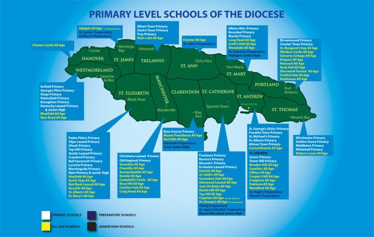 Schools Map 24x36