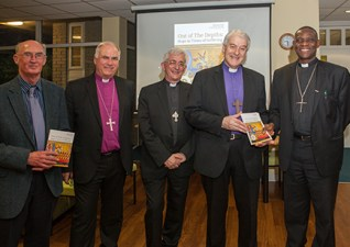 """Book launch of """"Out of the Depths – Hope in Times of Suffering"""""""