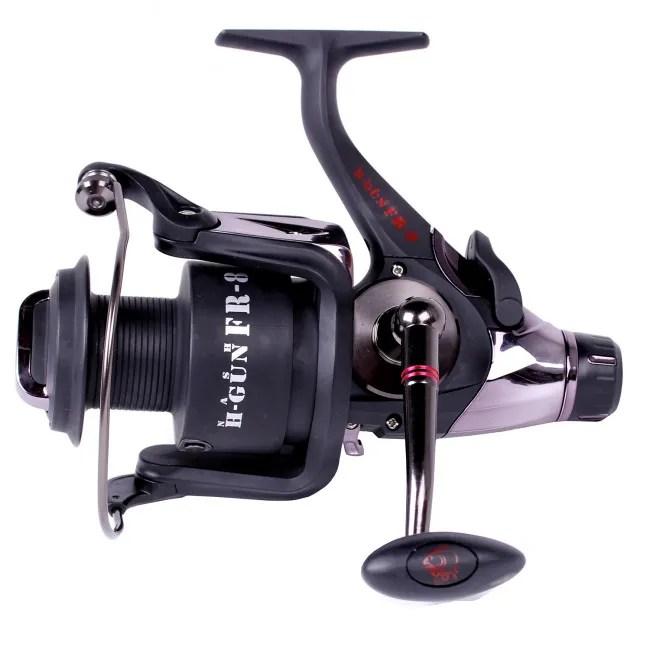 Nash HGun FR5 Free Spool Reel  Angling Direct