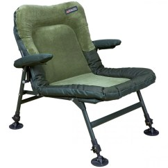 Fishing Chair With Arms Dining Chairs Casters Swivel Advanta Endurance Memory Foam Low | Angling Direct