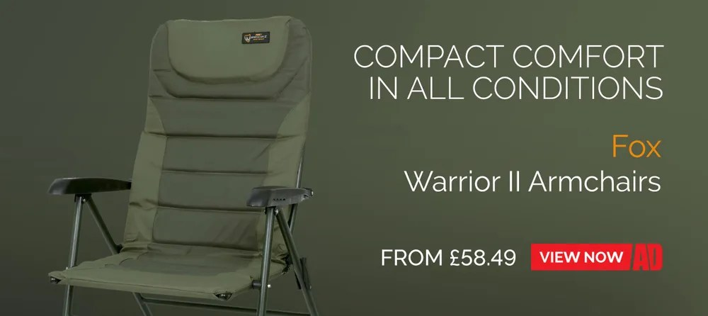 korda chair accessories waterless pedicure chairs fishing seats backrests angling direct fox warrior ii range