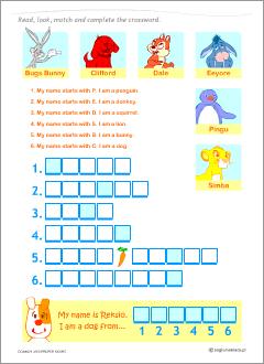 Common vs proper nouns  Grammar worksheets for kids