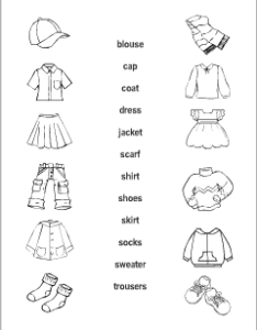 Esl resources for teachers and students also clothes vocabulary kids learning english printable rh anglomaniacy