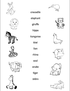 Esl resources for teachers and students also wild animals vocabulary kids learning english printable rh anglomaniacy