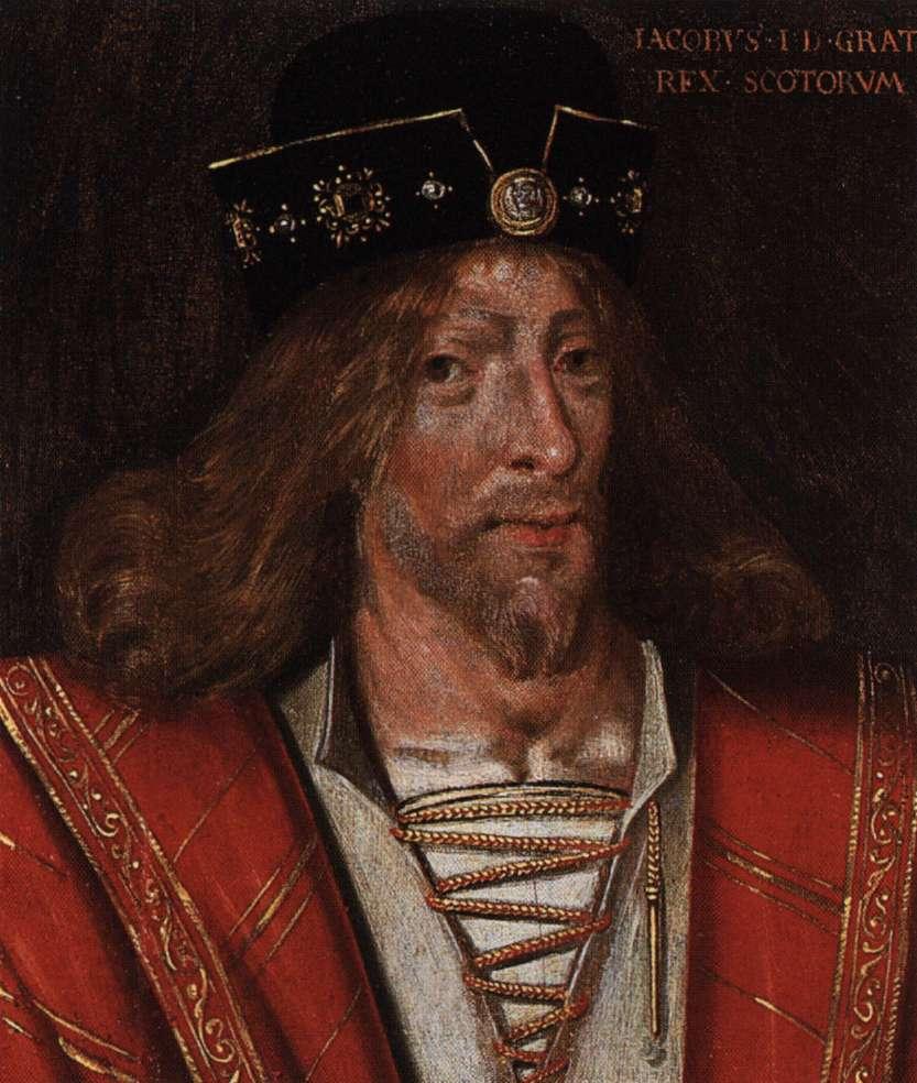 James I Vi Black King And