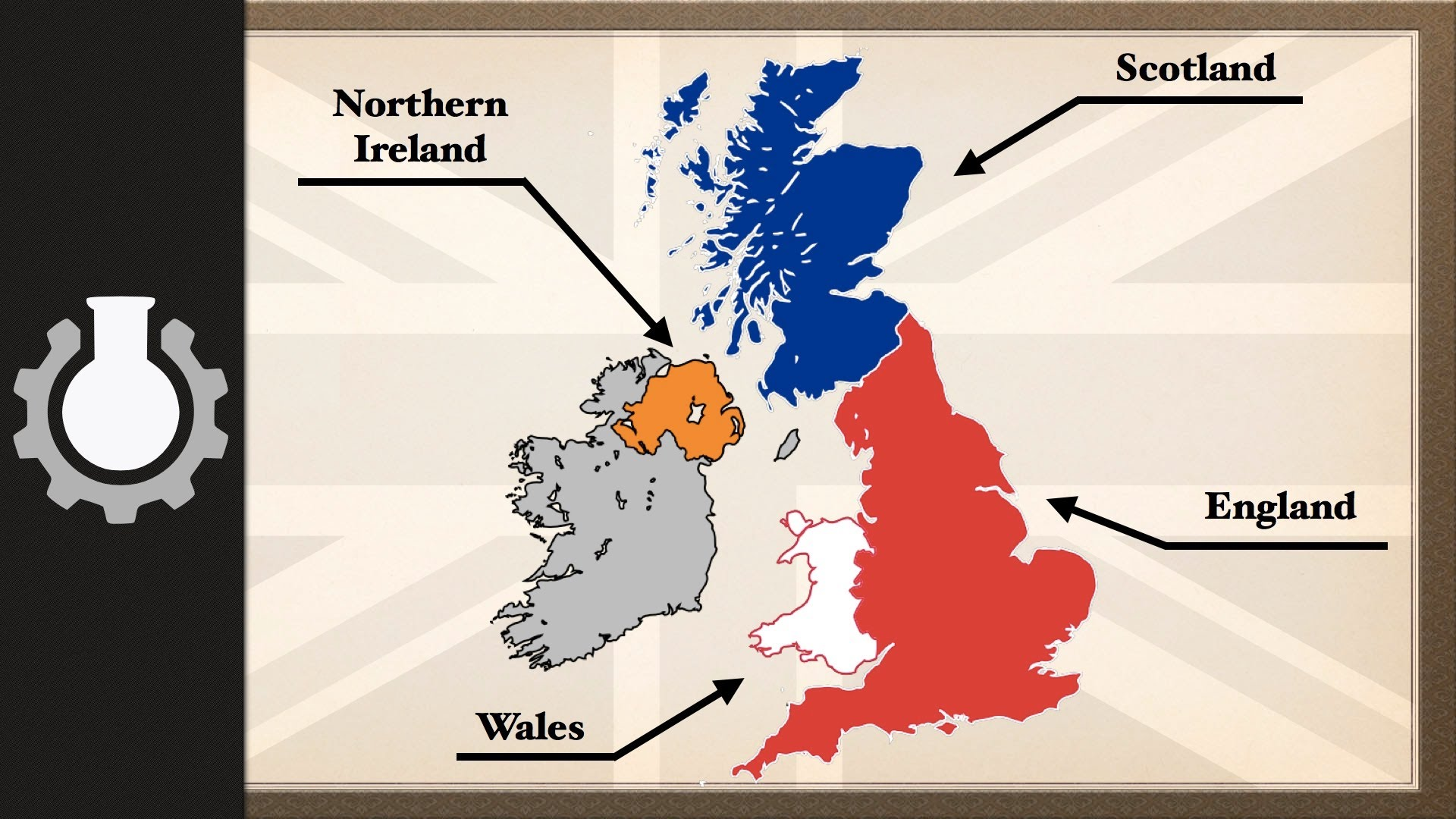 Anglotees Explaining The Geography Of The United Kingdom
