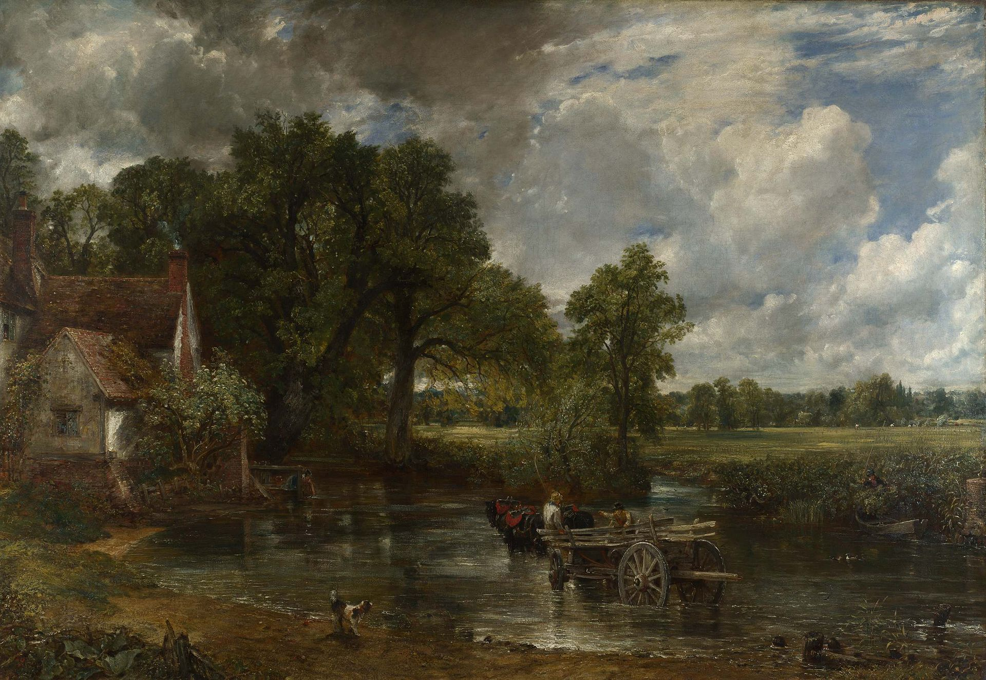 Great Britons John Constable The Landscape Painter Who Created A England Thoughts On British Electrical Outlets Anglotopianet Hay Wain His Most Famous Painting
