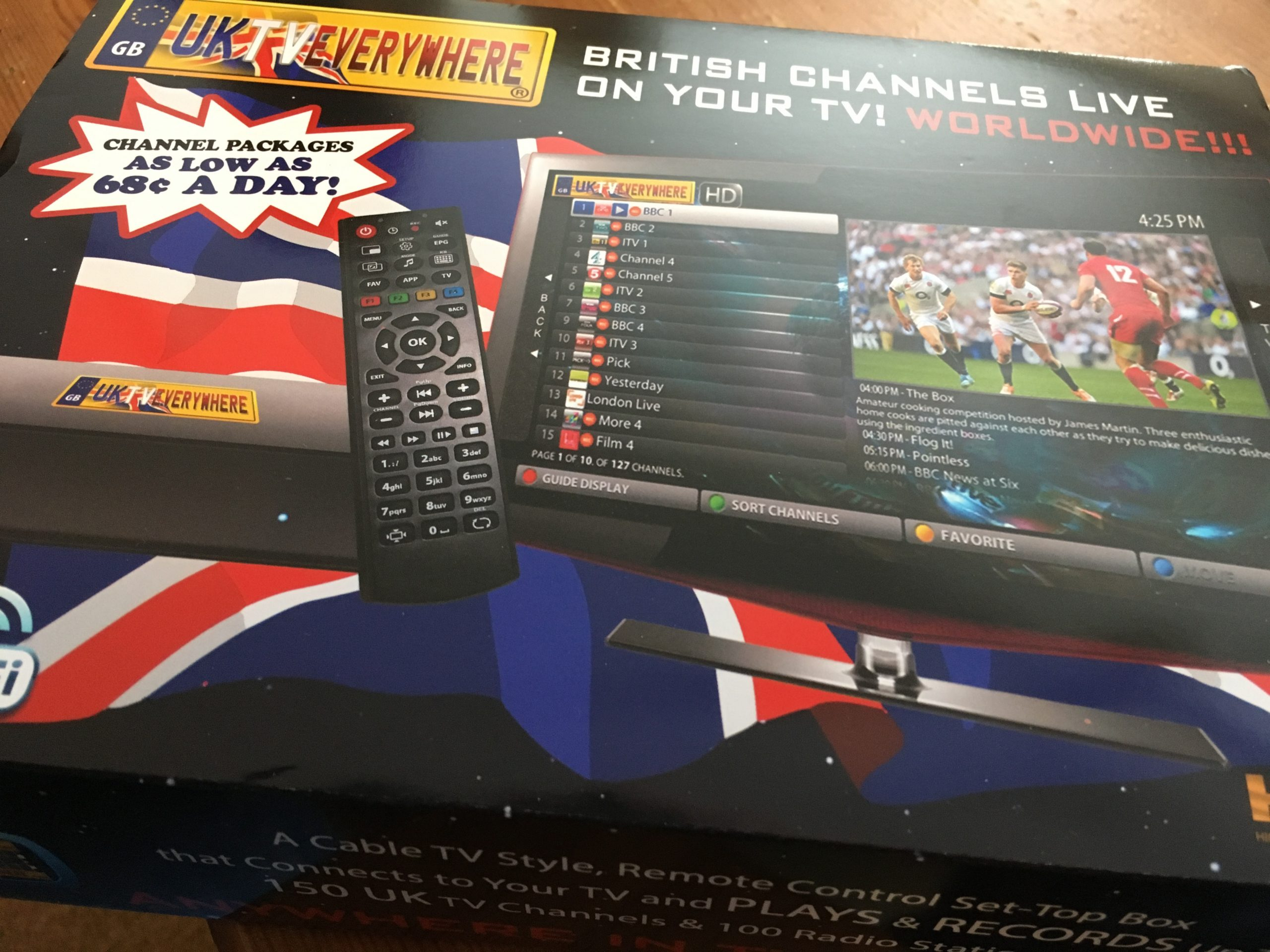 Brit Telly: Reviewing the New UK TV Everywhere STB-4x Telly