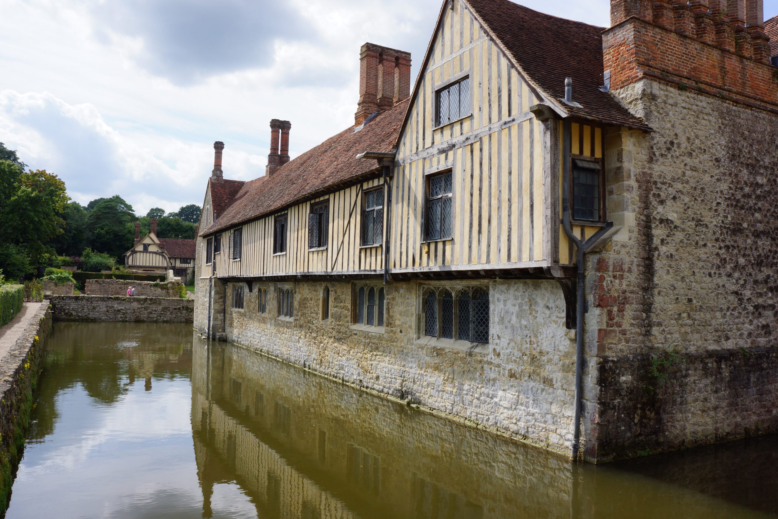 Through the Lens: A Proper Moat – A Visit to Ightham Mote