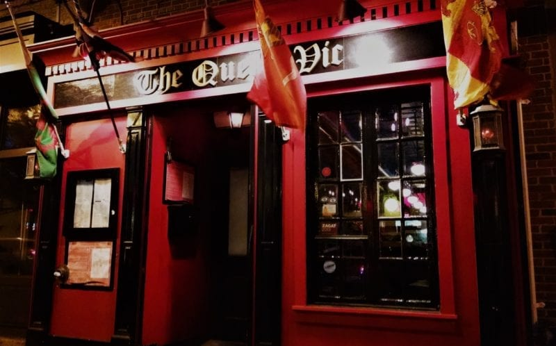 The Queen Vic in Washington, DC