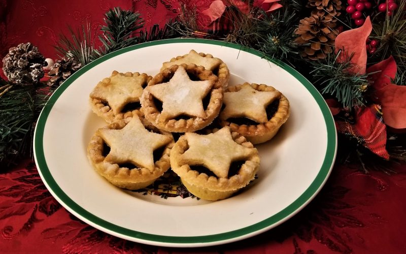 Plate of Mince Pies