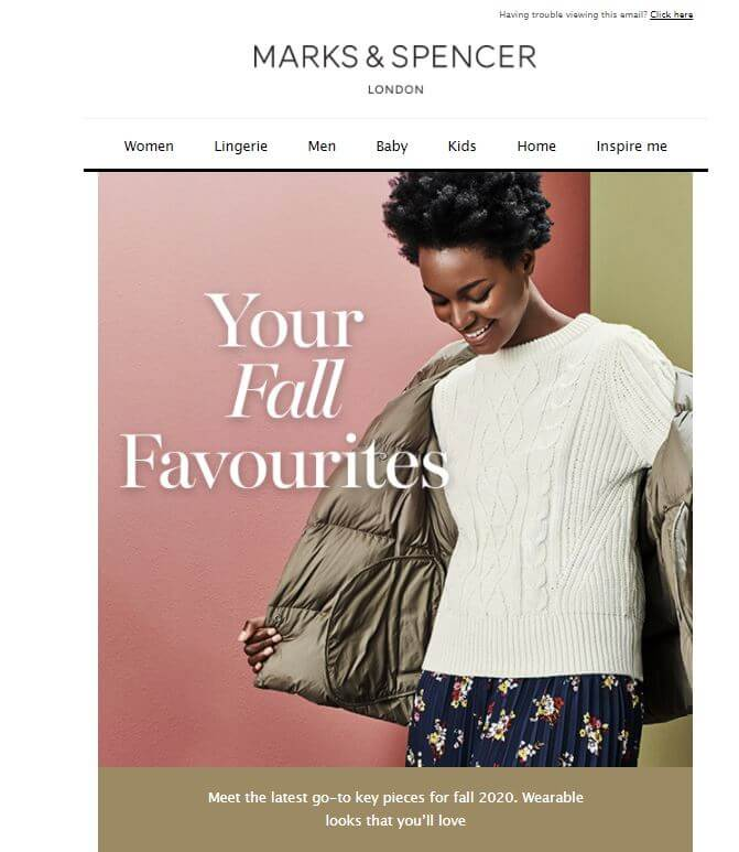 The Repat Report: Marks and Spencer – confusing the heck out of this repat
