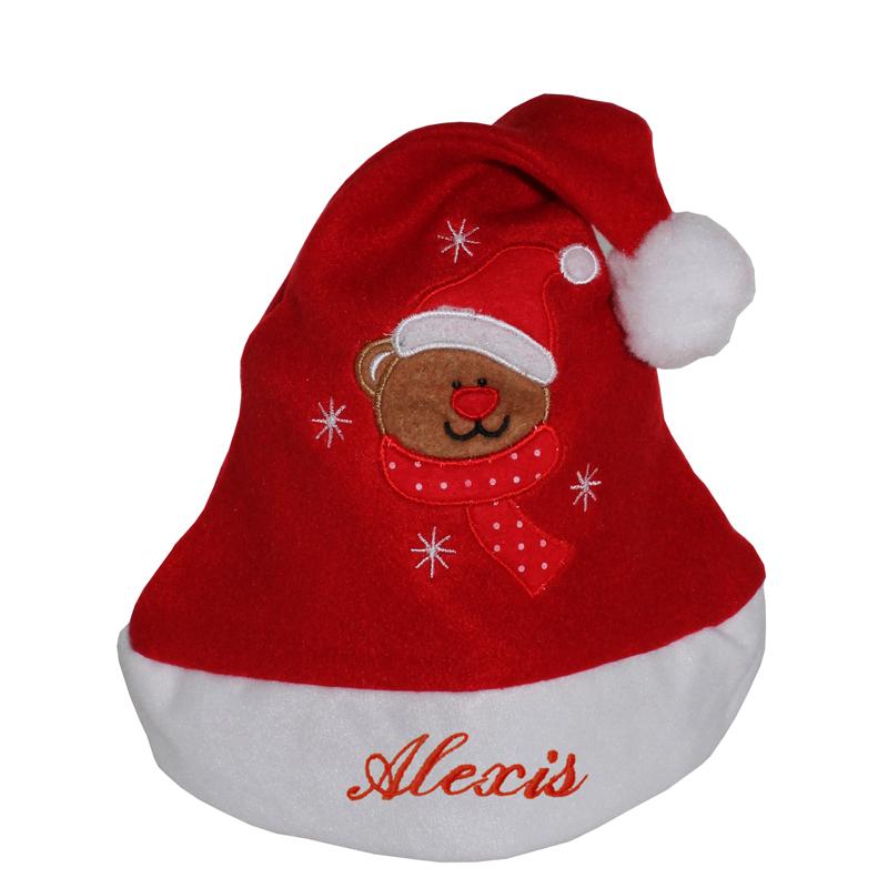 Cappello Babbo Natale bambino con nome  idea regalo originale  AngolodelRegalo