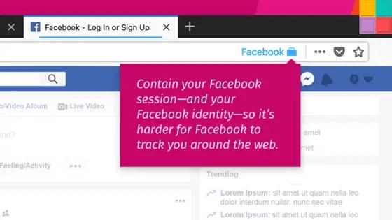 faceCointaner - Mozilla rilascia add-on per limitare il tracciamento via Facebook