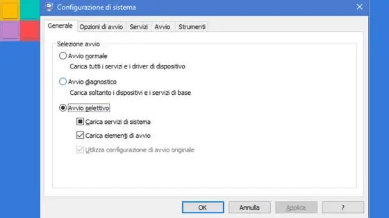 avviopuli - Avvio Pulito di Windows: perchè?