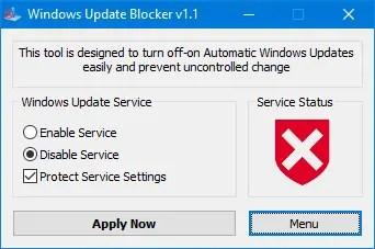 windos update blocker blocked - Come bloccare gli aggiornamenti in Windows 10