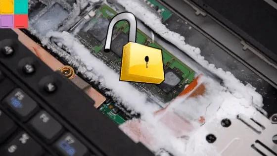 COLDBOOTATTACKS - Tutti i PC moderni sono vulnerabili al Cold Boot Attacks