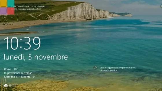 LOCKSCREENCOVER - Ecco come salvare gli sfondi dei contenuti in evidenza di Windows 10