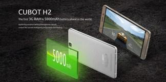 cubot h2 battery