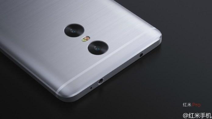 xiaomi redmi note pro dual camera