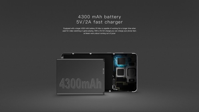 doogee y6 max battery