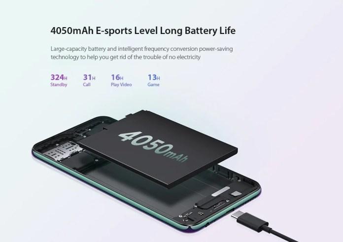 Lenovo z6 lite battery