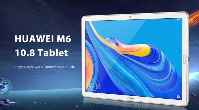 Huawei M6 4G Tablet