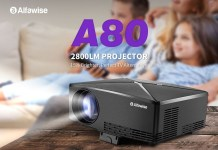 Alfawise A80 HD Projector