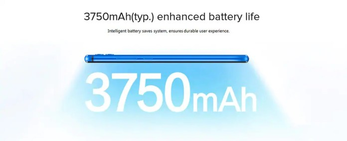 Honor 8x battery