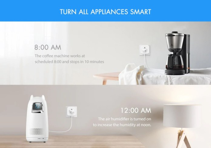 Alfawise PE1004T Smart Plug program