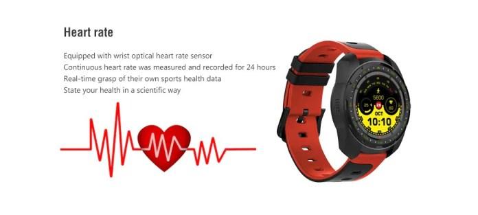 Bilikay KW01 Smartwatch heartrate