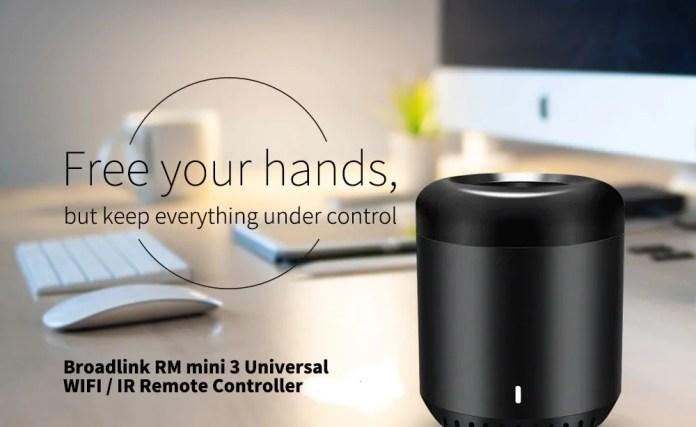Broadlink RM mini3 Universal WiFi - IR Remote Controller