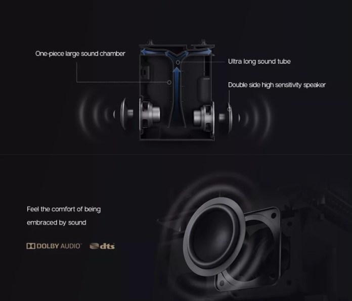 Xiaomi Mijia DLP Projector sound