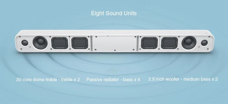 Xiaomi Mi Soundbar speakers