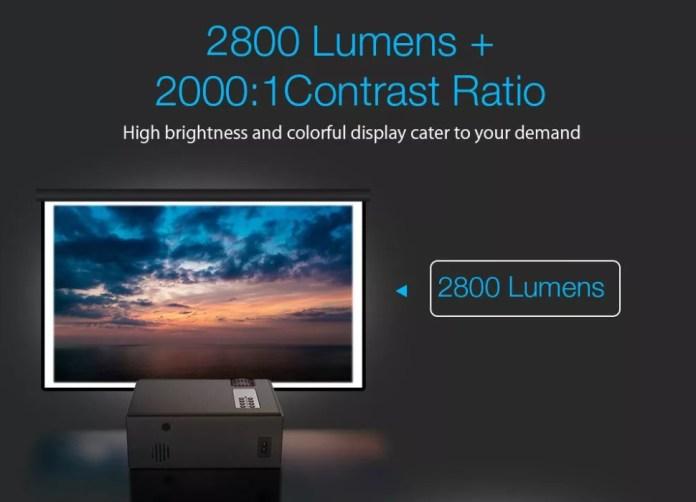 blitzwolf BW-VP1 Projector 2800 lumens