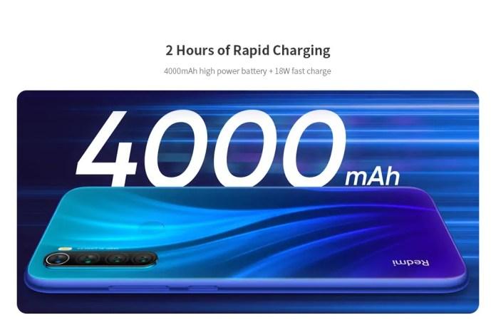 redmi note 8 gearbest offer battery