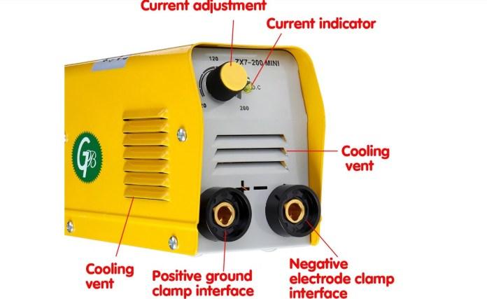 zx7 200 mini welding maching outside