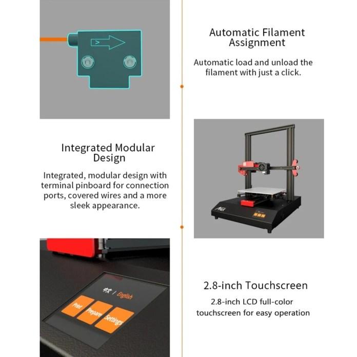 Anet ET4 3D Printer features