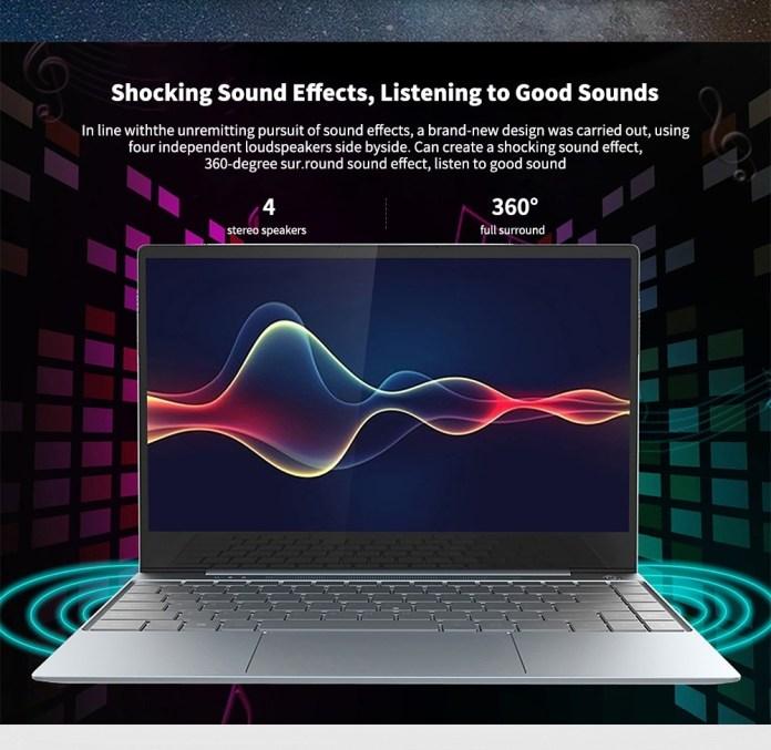 Jumper Ezbook X3 Pro sound
