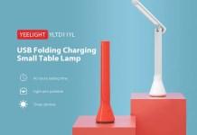 YEELIGHT YLTD11YL USB Folding Charging Small Table Lamp