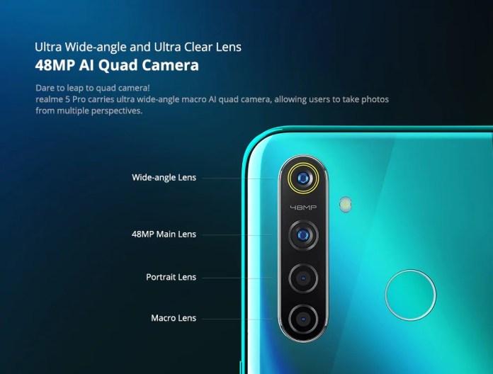 realme 5 pro Oppo camera